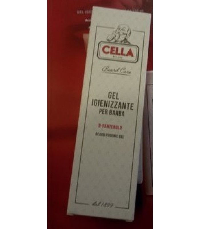 Gel igienizzante da barba Cella