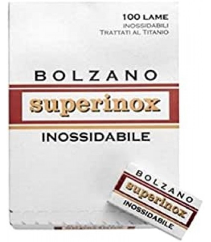 Lame da barba Bolzano Superinox